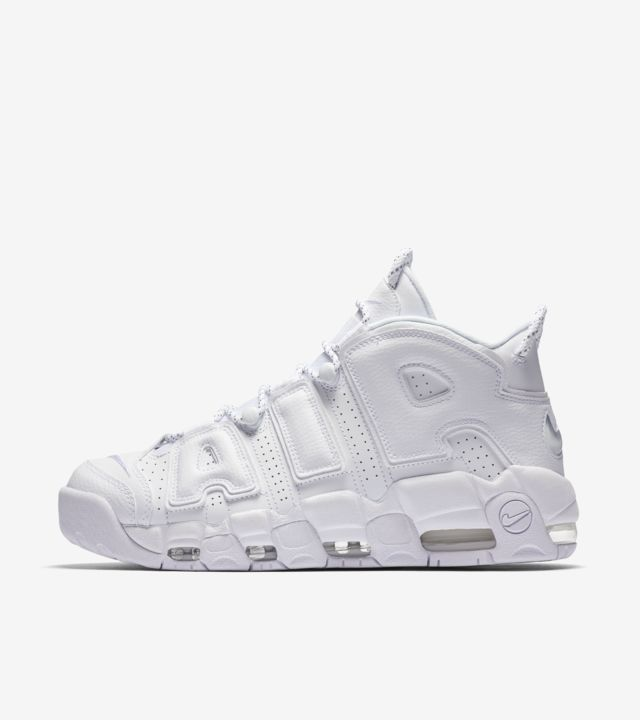 Nike Air More Uptempo 'White on White' Release Date. Nike SNKRS