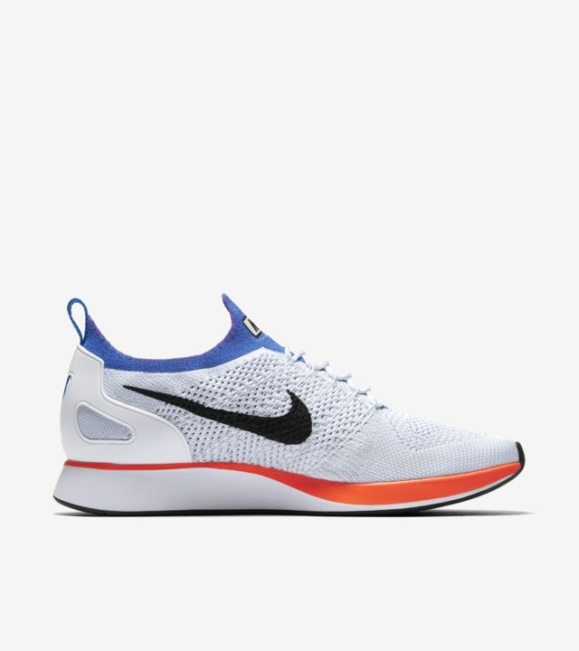 Nike Air Zoom Mariah Flyknit Racer Trainers in White at