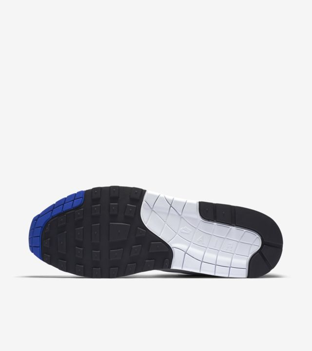 Nike Air Max 1 Anniversary White Game Royal Neutral Grey Black   Footshop