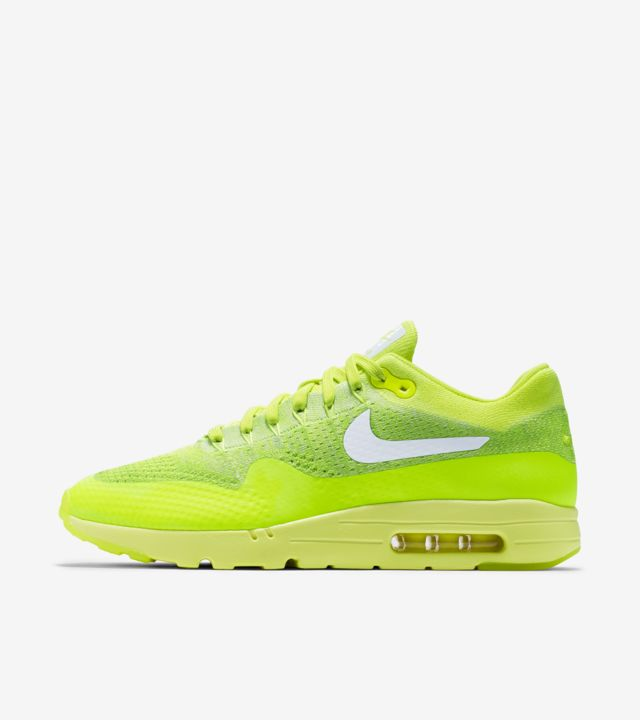 Nike Air Max 1 Ultra Flyknit 'Volt' Release Date. Nike SNKRS