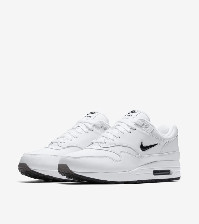 Air Max 1 Premium Jewel 'White & Black' Release Date. Nike SNKRS