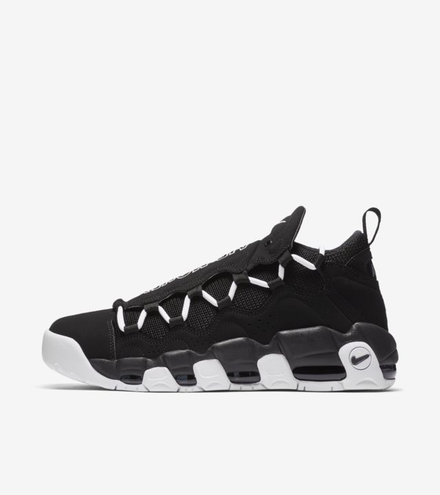 Nike Air More Money 'Black & White' Release Date. Nike SNKRS