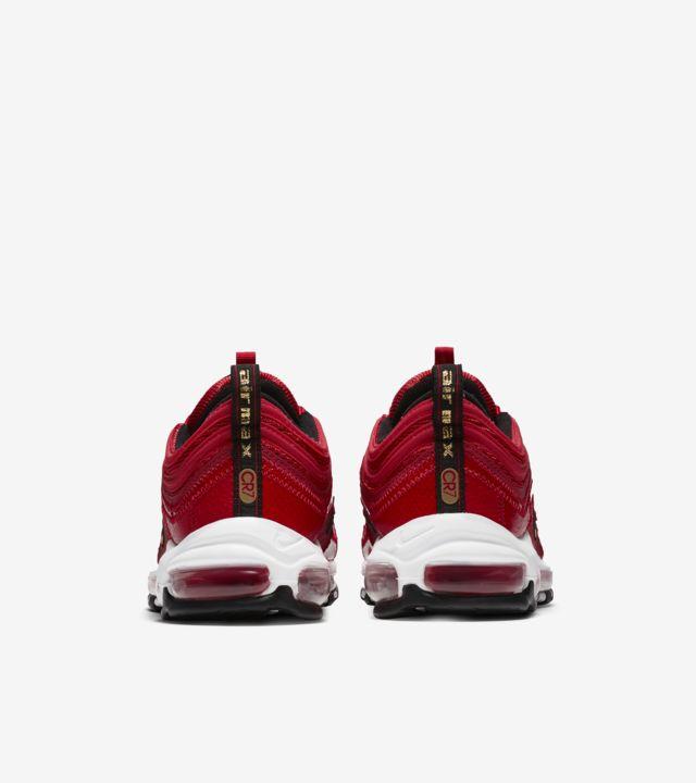 Red Nike Air Max 97 Cristiano Ronaldo 'Portugal Edition