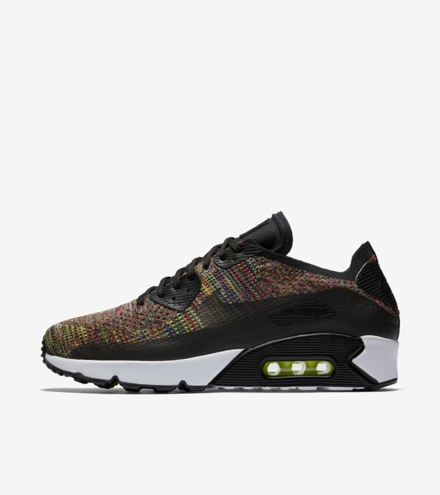 Nike Air Max 90 Ultra 2.0 Flyknit 'MultiColor'. Nike SNKRS