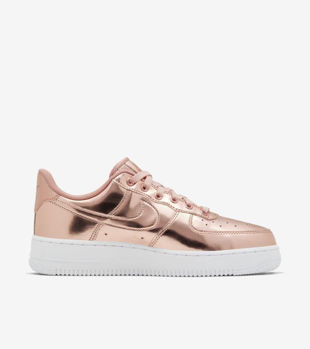 Women's Air Force 1 Metallic 'Bronze' Release Date. Nike SNKRS