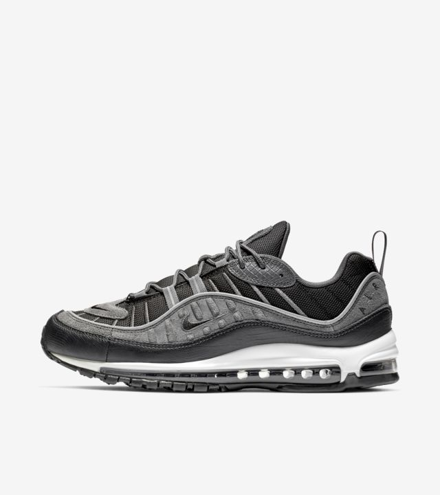 Nike Air Max 98 'Black & Anthracite' Release Date. Nike SNKRS