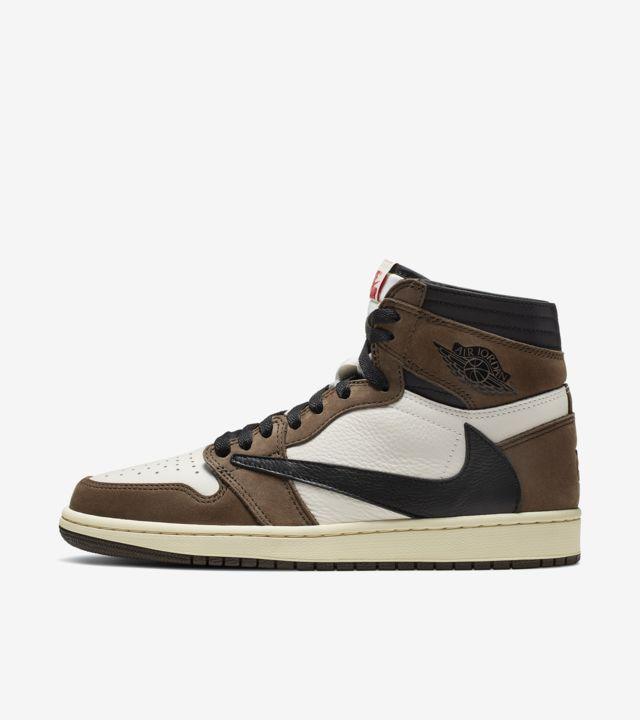 Air Jordan 1 High 'Travis Scott' Release Date. Nike SNKRS
