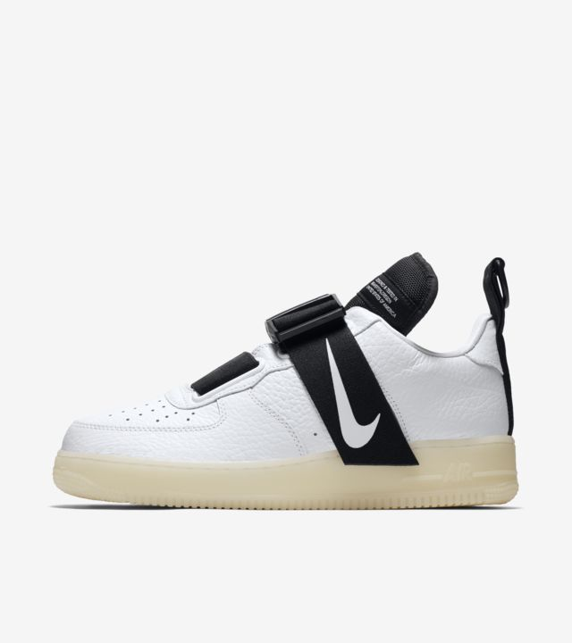 Nike Air Force 1 Utility WhiteWhite Black Released in 2019