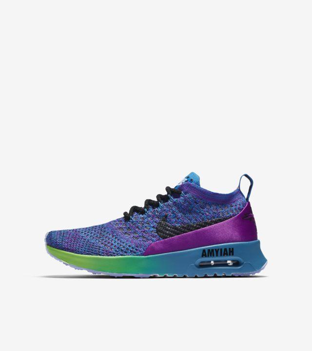 Nike Air Max Thea Ultra Flyknit BG Doernbecher 2017 'Vivid