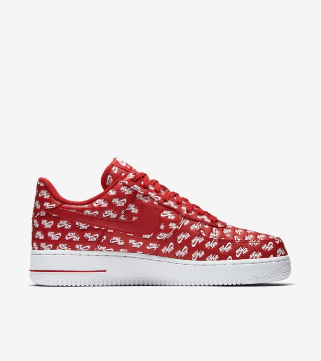Nike Air Force 1 '07 'University Red & White' Release Date
