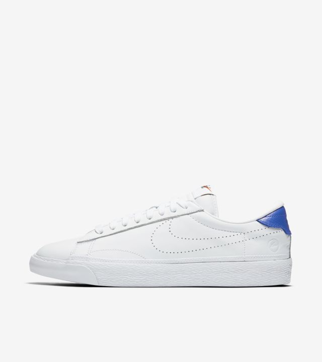 fragment design x Nike Zoom Tennis Classic AC White Blue SBD