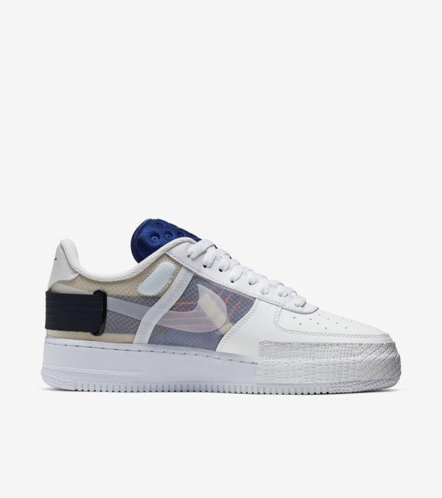 Men's Nike Air Force 1 Af1 Type N.354 Summit White Shoes