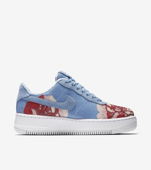 Women's Nike Air Force 1 Upstep 'December Sky' Release Date