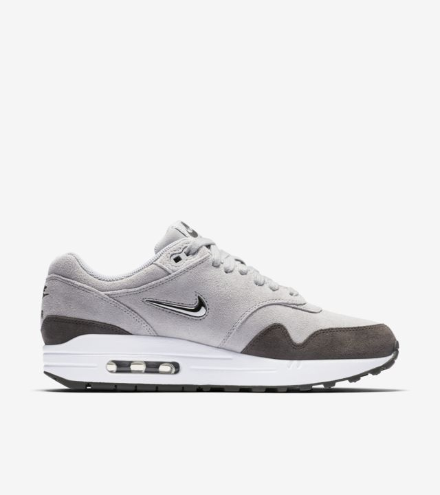 Nike Womens' Air Max 1 Premium 'Wolf Grey & Metallic Pewter