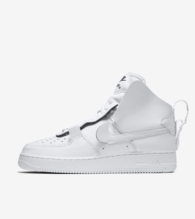 Nike Air Force 1 High PSNY 'Triple White' Release Date. Nike