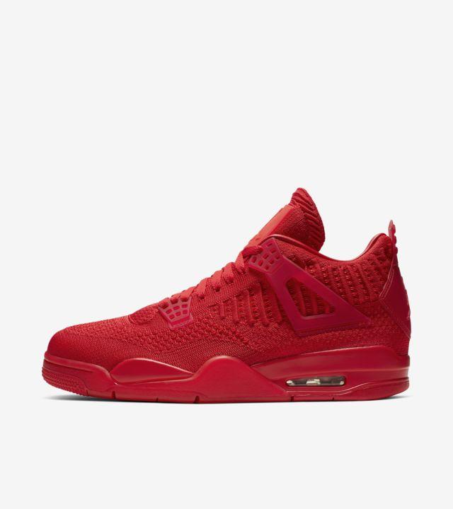 air jordan 4 all red