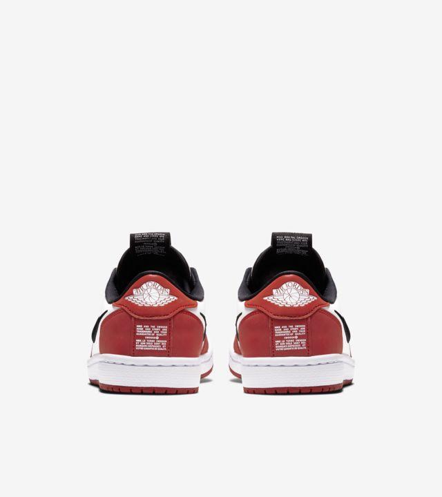Women's Air Jordan 1 Slip Low Chicago 'Varsity & Red & White