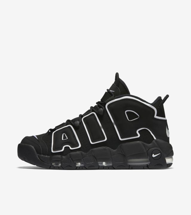 Nike Air More Uptempo 'Black & White' Release Date. Nike SNKRS