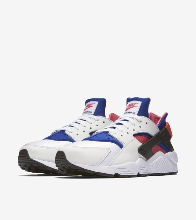 Nike Air Huarache Run '91 'White & Game Royal' Release Date