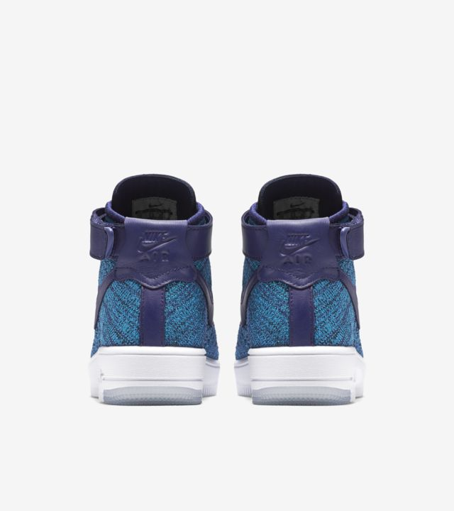 Women's Nike Air Force 1 Ultra Flyknit 'Blue Lagoon' Release