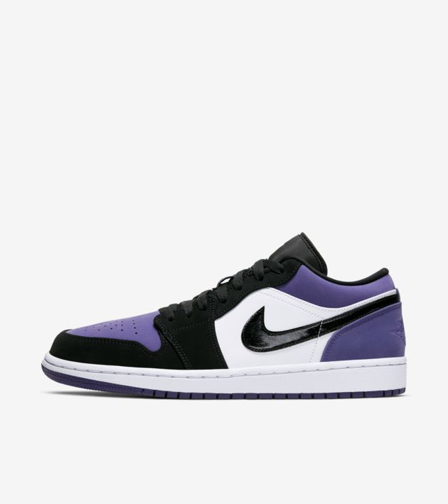 Air Jordan 1 Low 'Court Purple' Release Date. Nike SNEAKRS ID