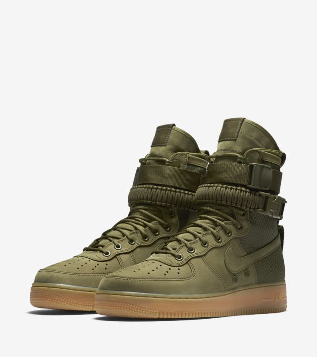 Nike Special Field Air Force 1 « Faded Olive & Gum Light