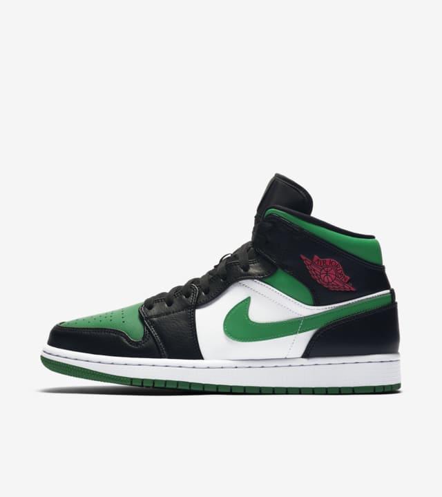 green jordan 1 mid