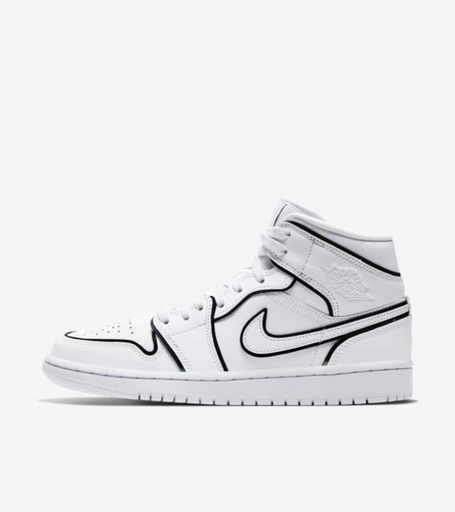 Women S Air Jordan 1 Mid White Lightning Release Date Nike Snkrs In
