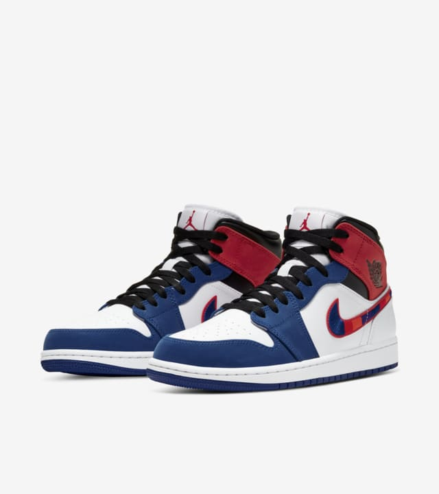 air jordans 1 blue and red