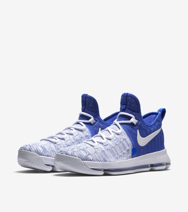 Nike Zoom KD 9 'Game Royal \u0026 White