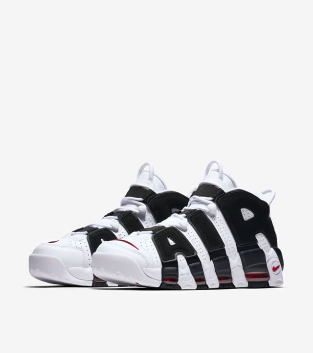 yeso rescate aluminio  Nike Air more Uptempo 96 'White & University Red & Black'. Nike SNKRS