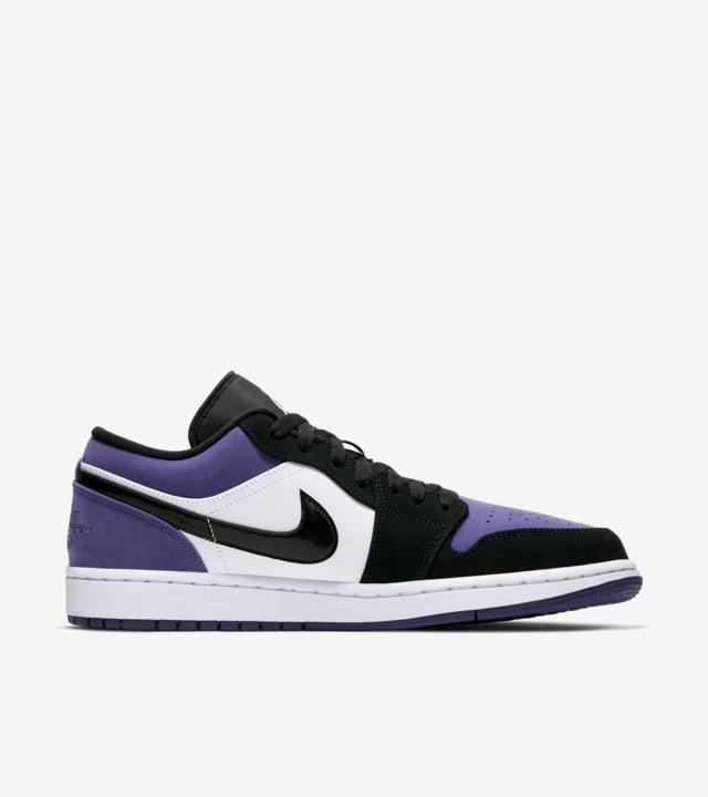 Air Jordan 1 Low 'Court Purple' Release