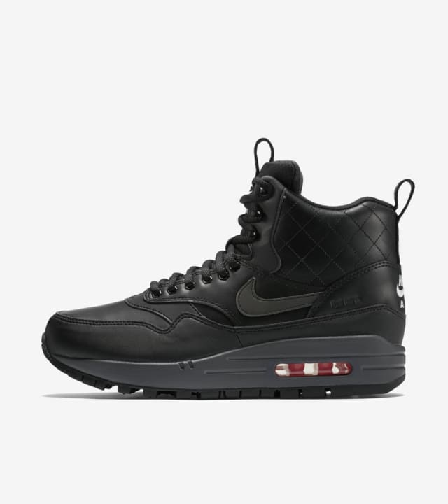 Nike Air Max 1 Sneakerboot 'Black
