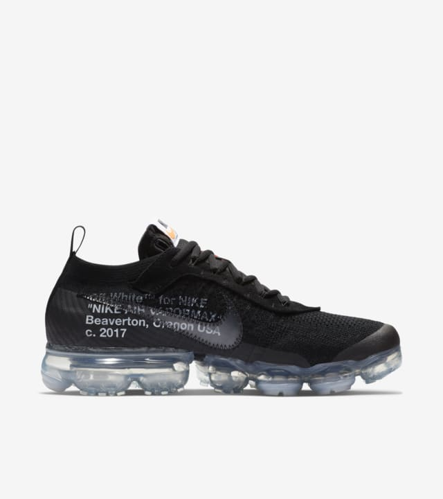 oasis factor En el nombre  Nike The Ten Air Vapormax Off-White 'Black' Release Date. Nike SNKRS