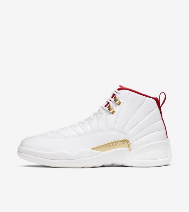 Air Jordan XII 'White/University Red
