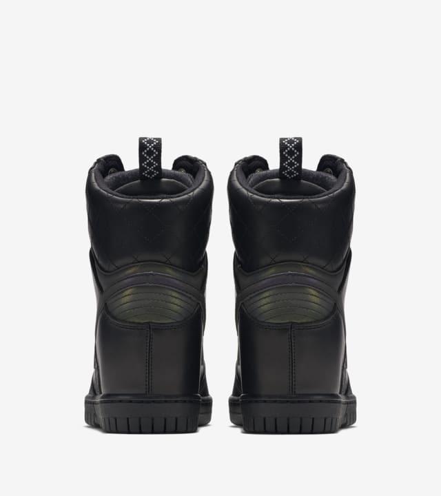 Cubeta Intuición Bailarín  Women's Nike Dunk Sky Hi 2.0 Sneakerboot 'Triple Black'. Nike SNKRS