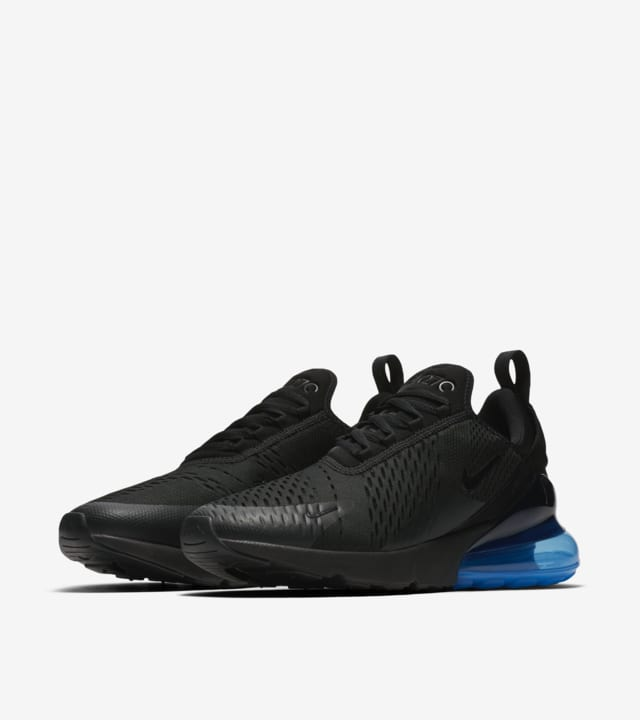 Comienzo factible sorpresa  Nike Air Max 270 'Black & Photo Blue' Release Date. Nike SNKRS