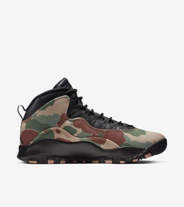 camouflage jordans