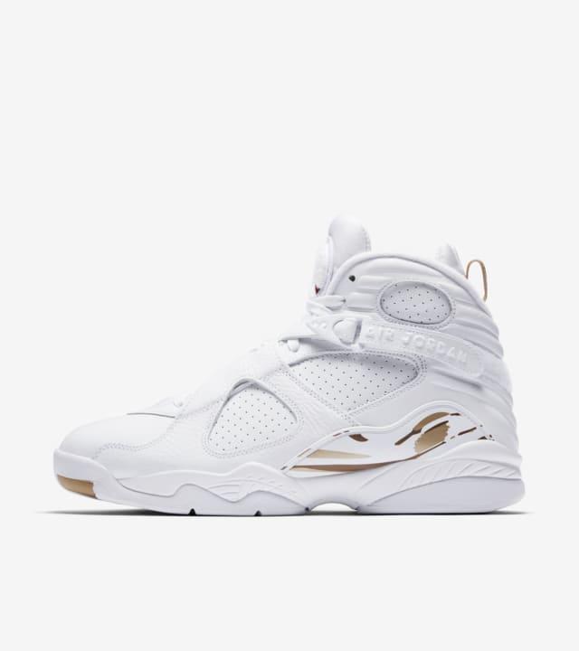 Canciones infantiles palo rosado  Air Jordan 8 Retro OVO 'White & Metallic Gold' Release Date. Nike SNKRS