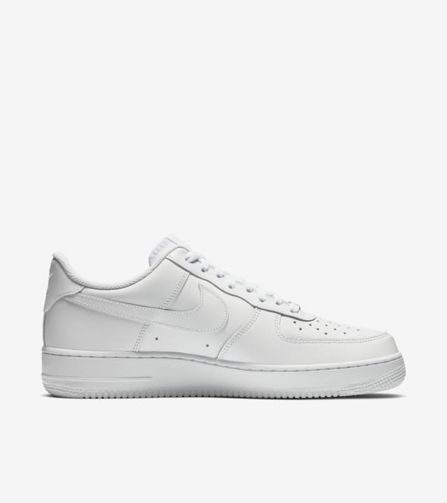 air force 1 all white low top