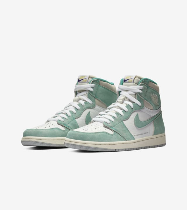 Air Jordan 1 'Turbo Green \u0026 White