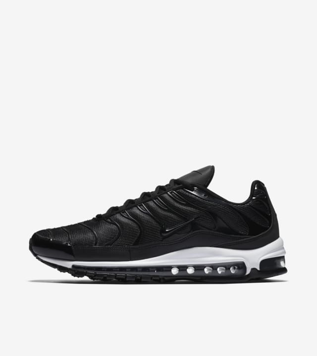 sencillo Nuez plato  Nike Air Max 97 Plus 'Black & White' Release Date. Nike SNKRS GB