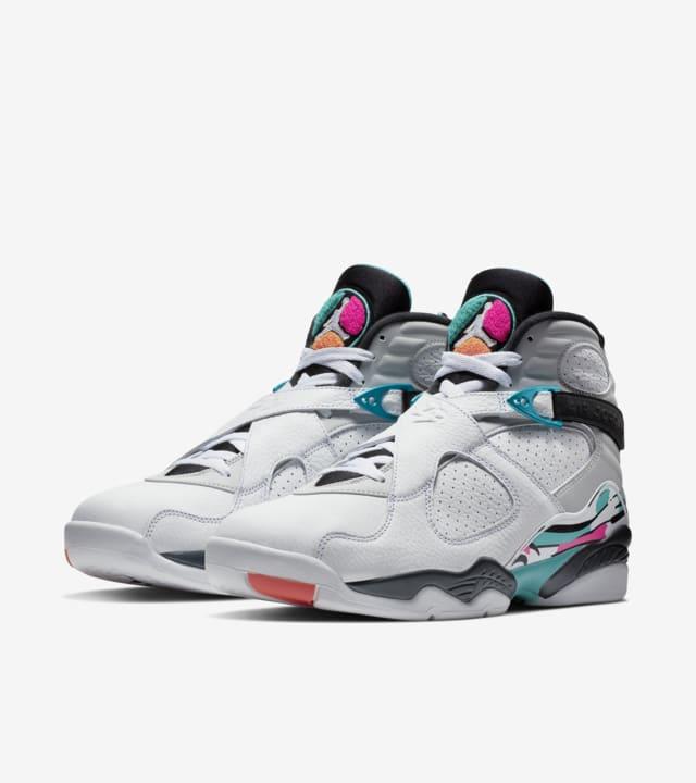 Oxidar administración marcador  Air Jordan 8 Retro 'White & Turbo Green' Release Date. Nike SNKRS GB