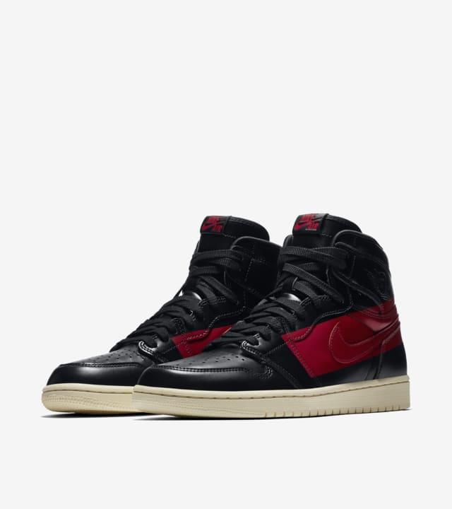 Air Jordan 1 High 'Black \u0026 Gym Red