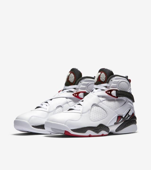 Equipar seré fuerte Masaccio  Air Jordan 8 Retro 'White & Black & Gym Red'. Nike SNKRS