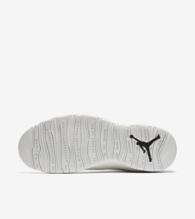 all white jordans 10
