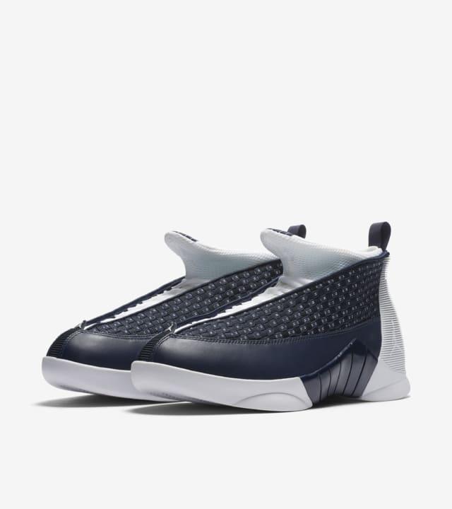 Air Jordan 15 Retro 'Obsidian'. Nike SNKRS