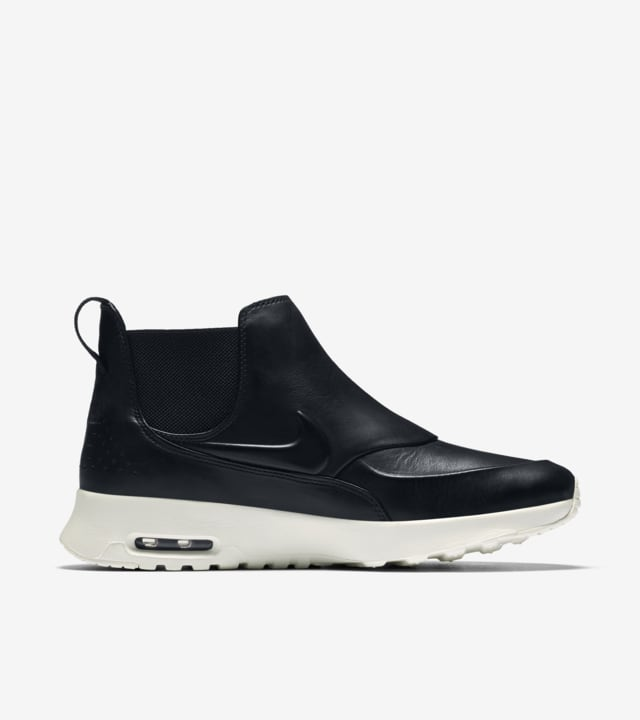 Nike Air Max Thea Mid Black & White för kvinnor. Nike