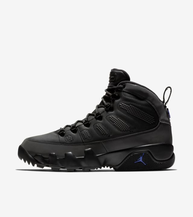 Air Jordan 9 Boot 'Black \u0026 Concord