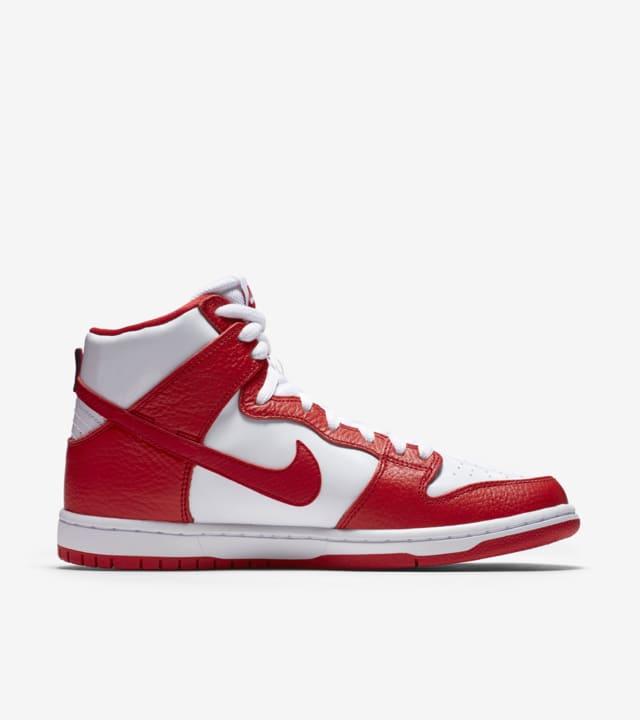Nike SB Dunk High Pro 'University Red